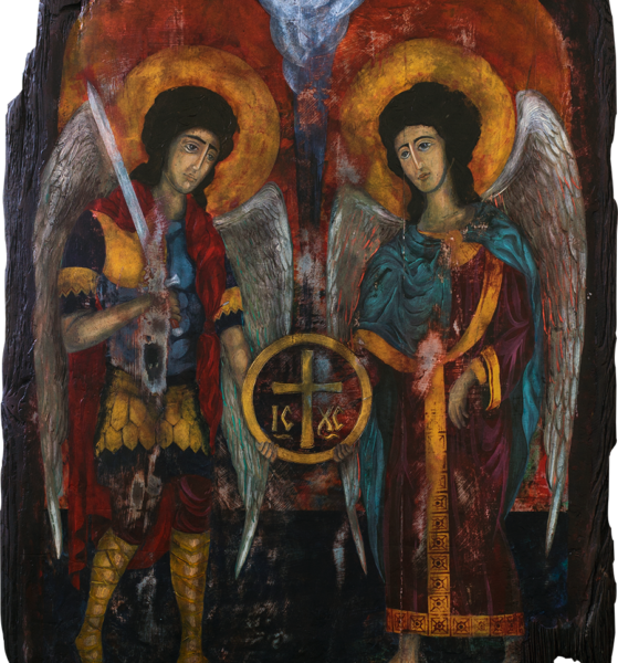 Archangels Michael and Gabriel